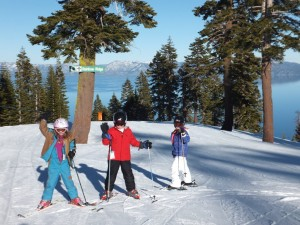 Group Ski Training for Kids