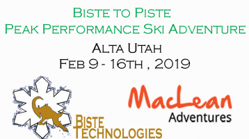 Biste Partners with MacLean Adventures for Ski Trips