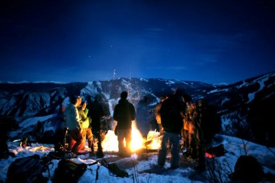 Bonfire-Snow-Dance snowbiste.com